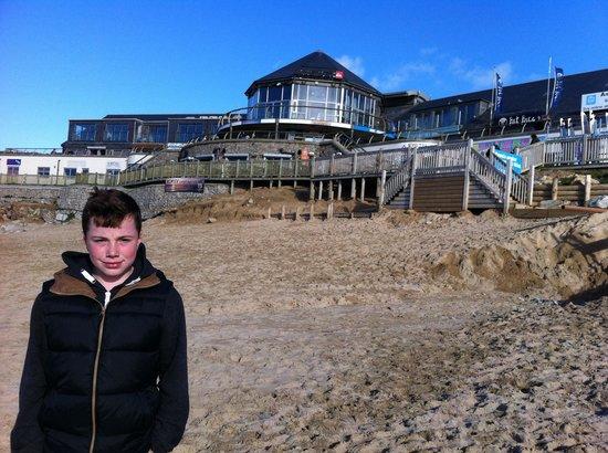 Fistral Beach Surf School: The beach house !!!