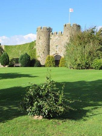 Amberley Castle: The entrance!
