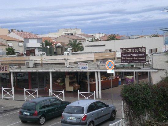 Residenz Maeva Les Cigales de Mer: vue du balcon