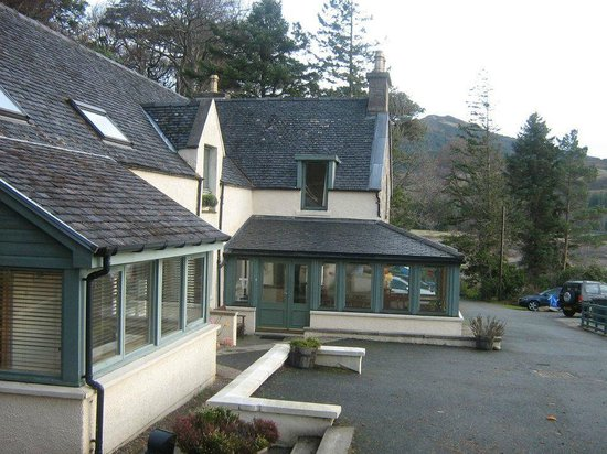 Balmacara Mains Guesthouse: The hotel