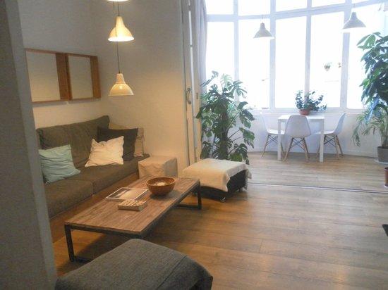 Hostal Cien : salle repos et à manger