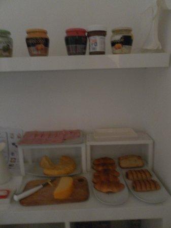 Hostal Cien : petit déjeuner