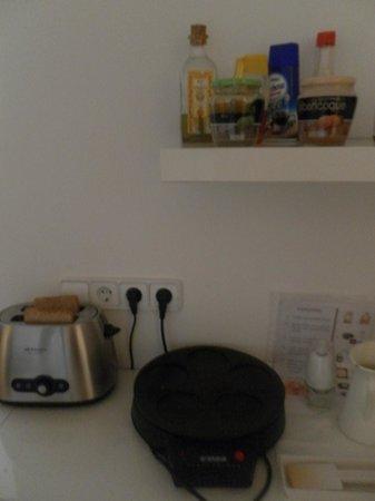 Hostal Cien: petit déjeuner