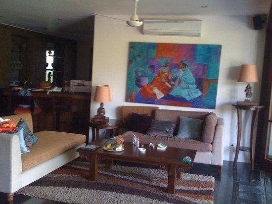 Gending Kedis Villas & Spa Estate: Salon