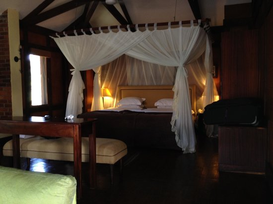 Arusha Coffee Lodge : The chalet / room