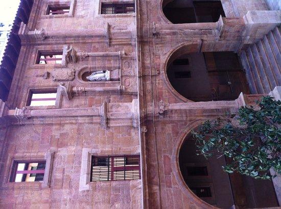 Hotel Vetusta: Vistas desde la habitación.