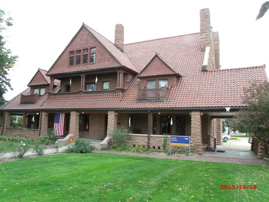G.W. Frank Museum of History and Culture : Kearney, NE, Historic Frank House