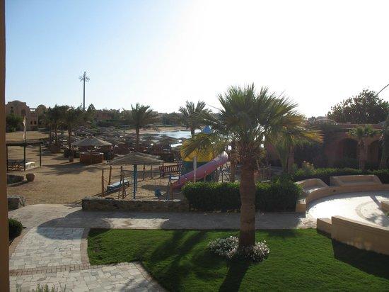 Three Corners Rihana Resort : Uitzicht vanuit kamer