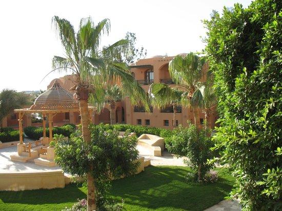 Three Corners Rihana Resort : Uitzicht vanop balkon