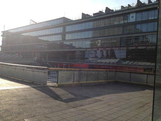 Scandic Sergel Plaza: view from sergel torg