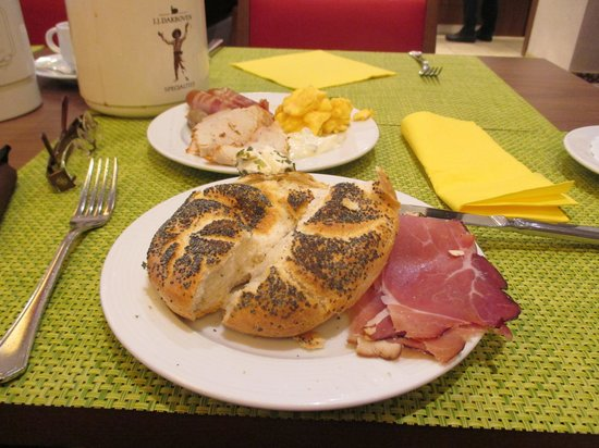 Hotel Löwengarten: breakfast