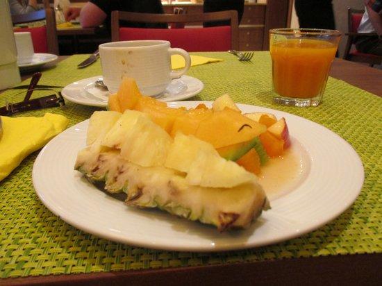 Hotel Löwengarten: always also selection of fresh fruits