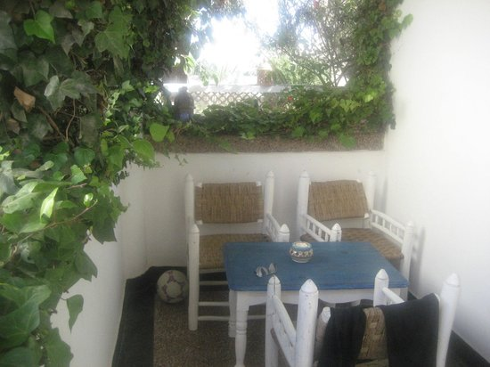 Hôtel Vent des Dunes : terrasse chambre 1