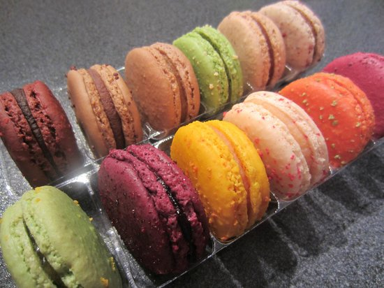 Париж, Франция: Macarons Richart