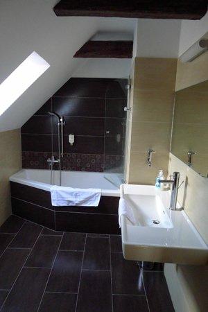 Hotel Riverside : Bathroom with skylight