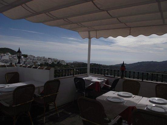 El Casino: terraza