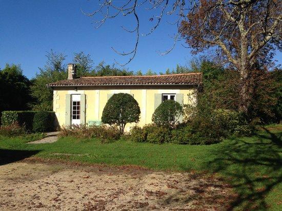 Le prieure de mouquet: The back house.