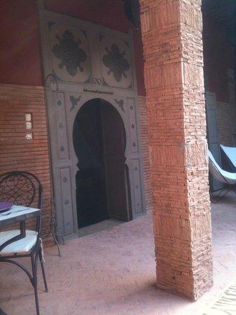 Les Jardins d'Henia : Porte