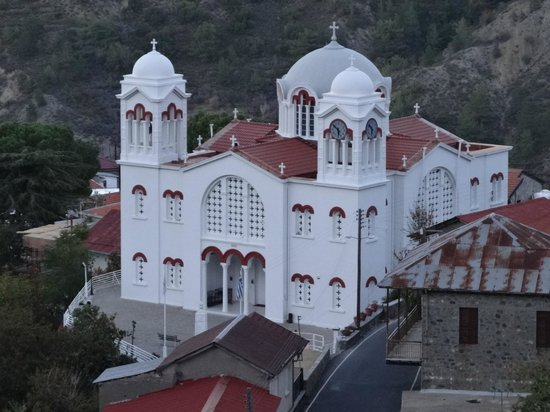 Pedoulas, Cyprus: The Big church of Holy Cross