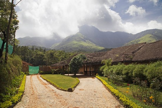 Banasura Hill Resort: Entrance Section of the Hotel