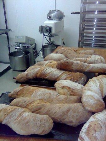 Frohe Aussicht: Hausgemachte Brot