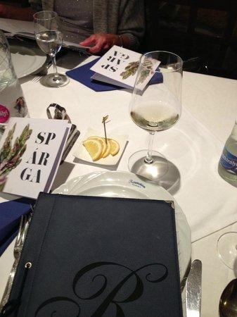 Rosenstein: Exploring the menu