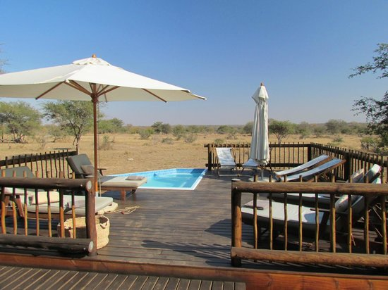 nThambo Tree Camp : pool area