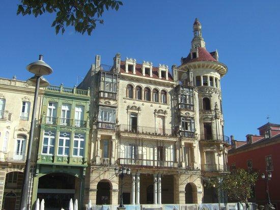 Hotel O Cabazo: Centro de Ribadeo
