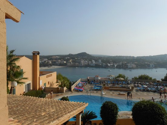 Club Santa Ponsa: the view that greated us every morning wow