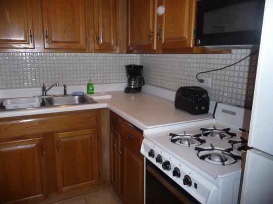 DeWitt Place: kitchen