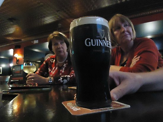 Blaggard's Pub : Een perfecte Guinness.
