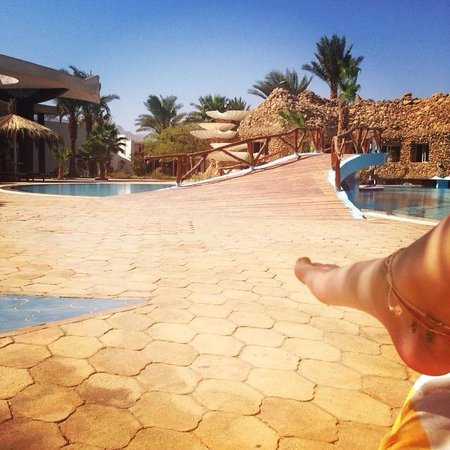 Nuweiba Coral Resort: By the pool