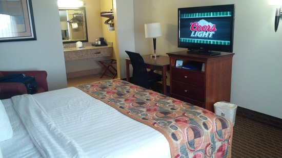 BEST WESTERN Franklin Inn: Room