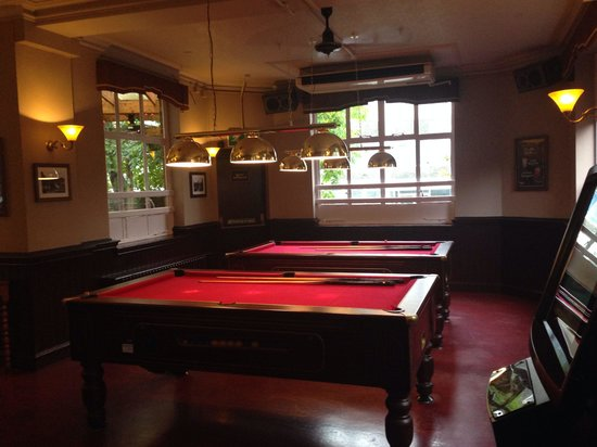 The Junction: Pool area