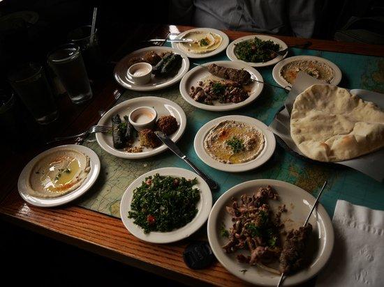 Karam Lebanese & Syrian Cuisine: Meat Mezza