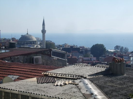 My Home Sultanahmet: Sea view from room #402