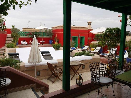 Dar Vedra: sun terrace
