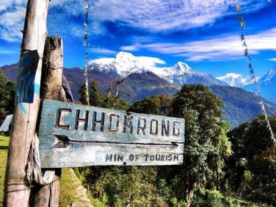 Trekking Team Pvt. Ltd. - Day Tours: On the way to Chomrong