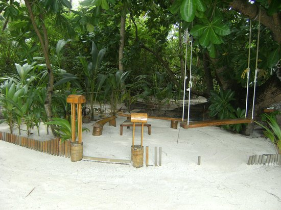 Biyadhoo Island Resort: area giochi