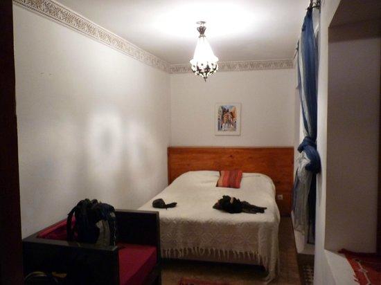 Riad Tizgui: Habitacion doble