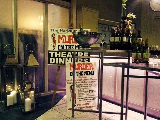 Murder on the Menu: Wine Reception