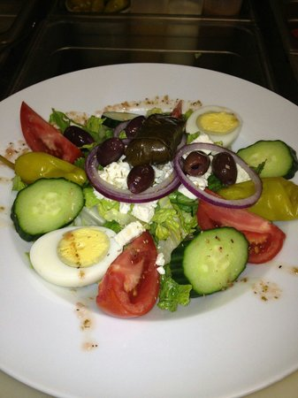 Overseas Kitchen: Greek salad