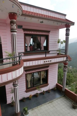 Stupa Resort Nagarkot: Bedrooms block