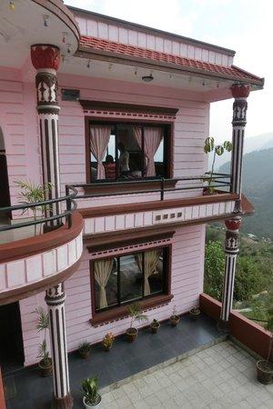 Stupa Resort Nagarkot : Bedrooms block