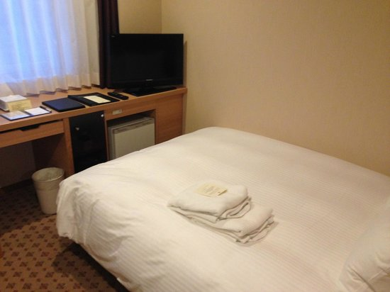 JR Kyushu Hotel Nagasaki: Bed