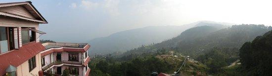 Stupa Resort Nagarkot: View fron hotel terrase