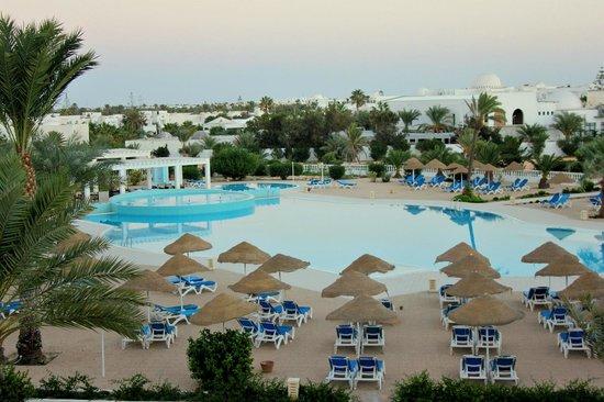 Palais des Iles Djerba Hotel: basen z góry
