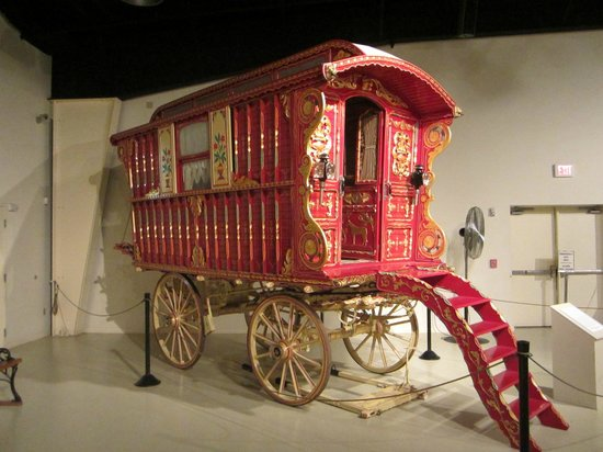 Owls Head Transportation Museum : A gypsy caravan
