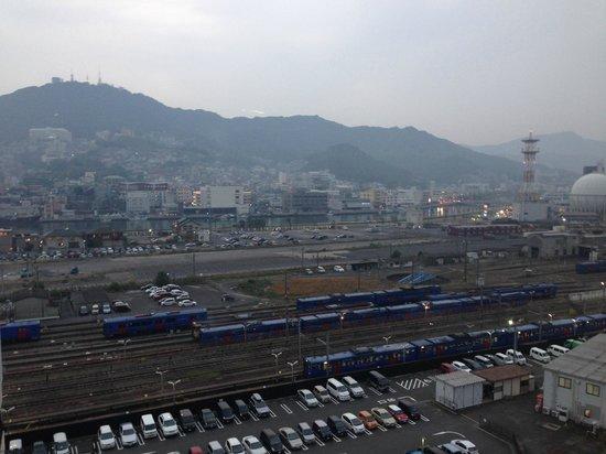 JR Kyushu Hotel Nagasaki : View from the room