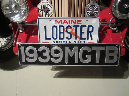 Owls Head Transportation Museum: car registration